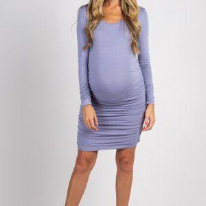 Pinkblush Maternity Dress Ruched Sides